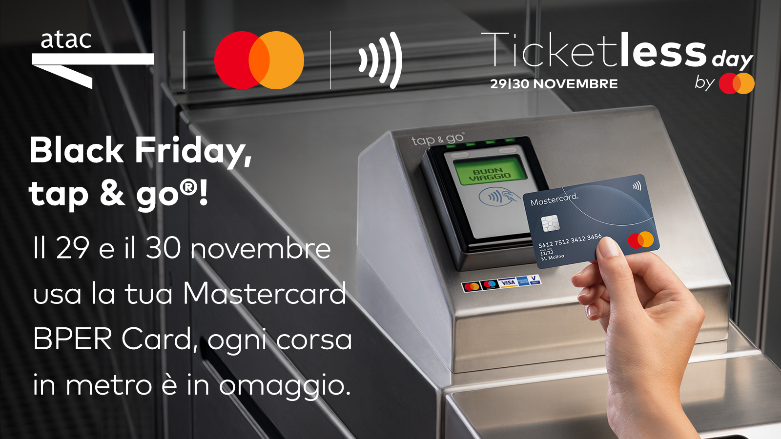 Mastercard ticketless day